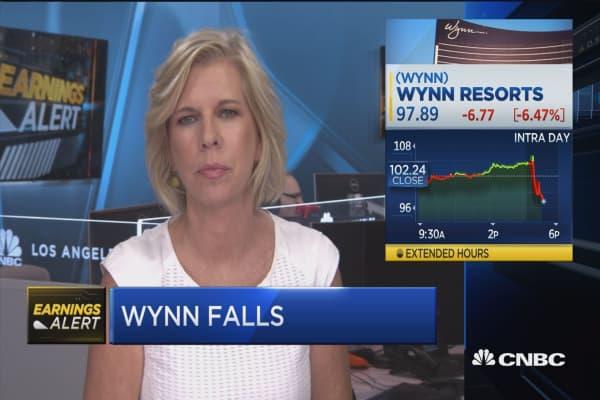 Wynn falls