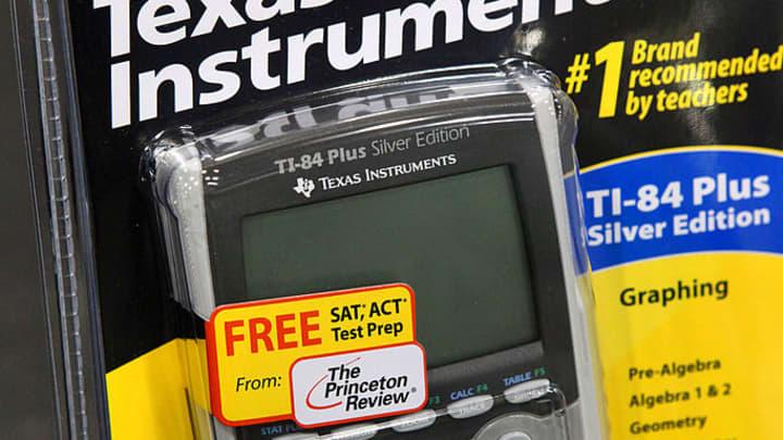 A Texas Instruments Inc. TI-84