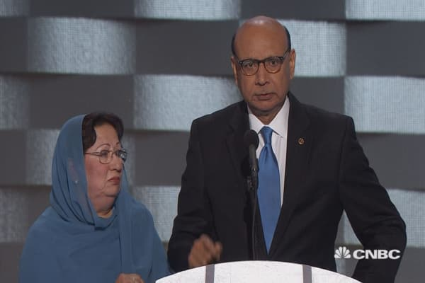 Khan to Trump: 'Have you even read the U.S. Constitution?'