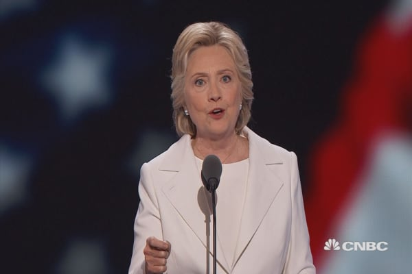 Hillary: 'Bernie, your campaign inspired millions of Americans'