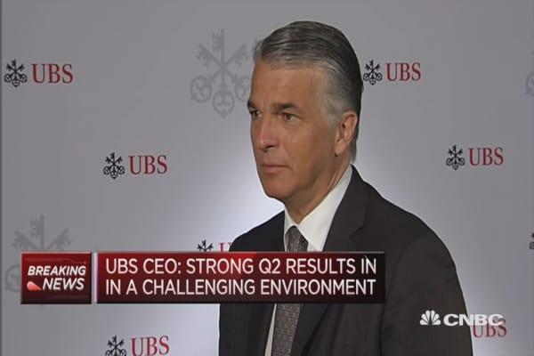 Transaction activity in wealth management is low: UBS CEO