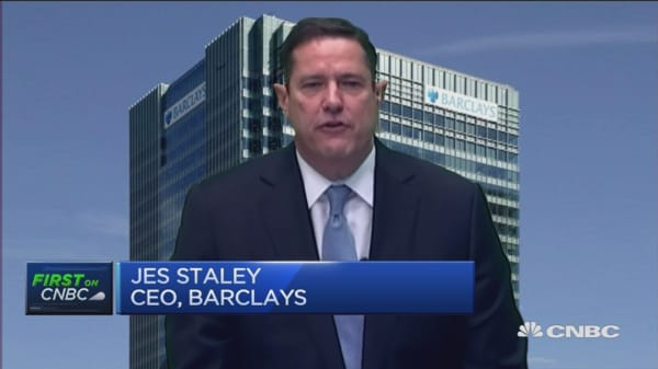 Europe's banks facing testing times: Barclays CEO