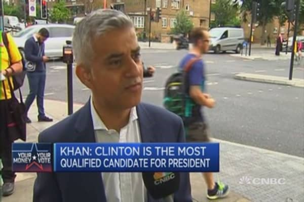America has a big political decision to make: London Mayor