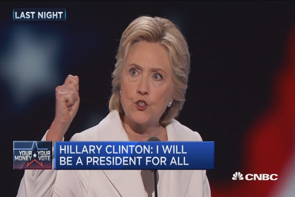 Clinton: I will be a president for all