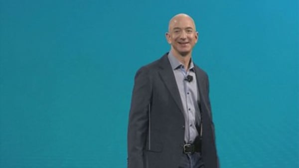 Bezos passes Buffett as world's third-richest person