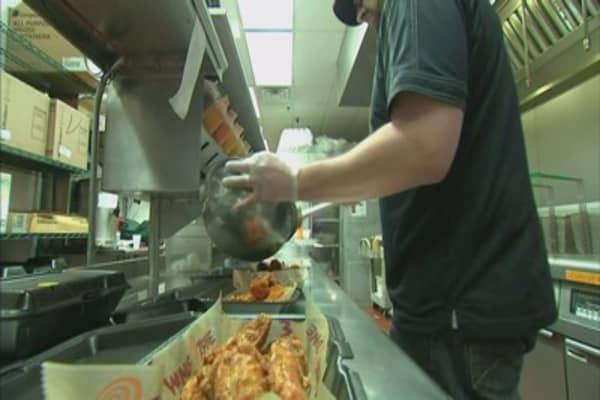 Free wings on National Chicken Wing Day