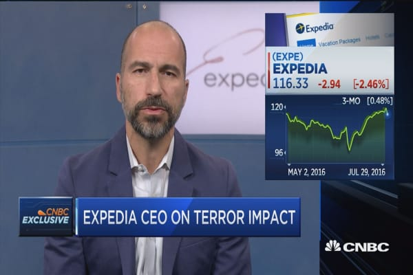 Expedia CEO on terror impact