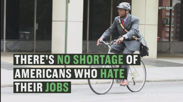These are the top states where people hate their jobs the most