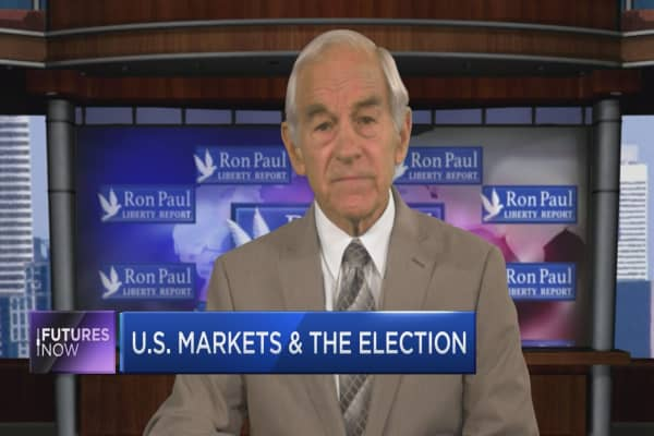 "Ron Paul: Neither candidate will restore ""great economy"""
