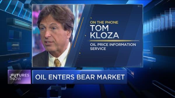 """Oil prices are trading in a """"bizarro world:"""" Kloza"""