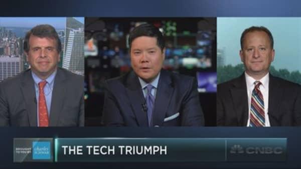 Tech stocks hit multi-year highs