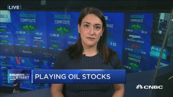 Playing oil stocks