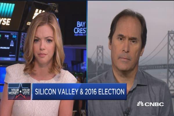 Silicon Valley & 2016 election
