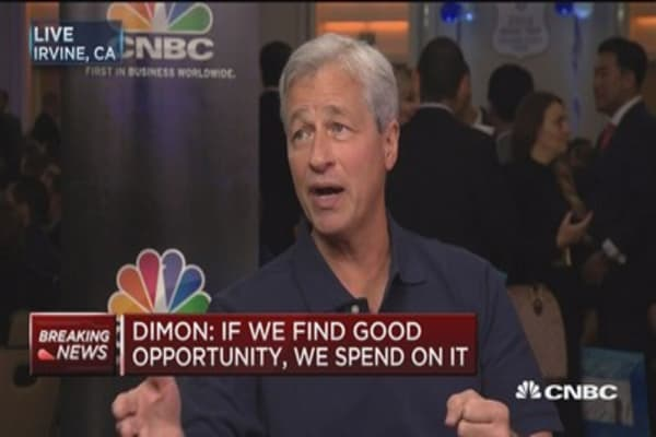 Dimon: Brexit costs shouldered by customers in Europe