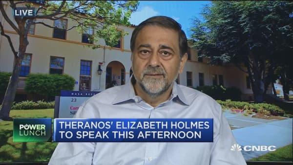 Theranos Founder Holmes tries to regain credibility