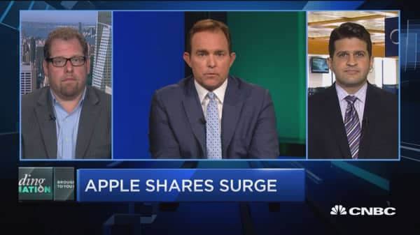 Apple on the rise?