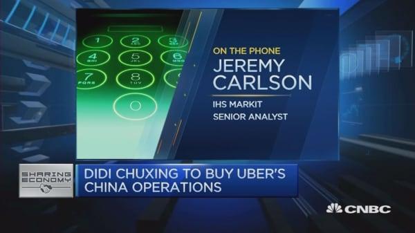 Uber Exits China