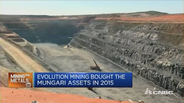 Evolution Mining PKG