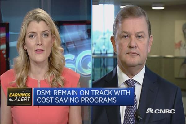 It was a strong quarter: DSM CEO