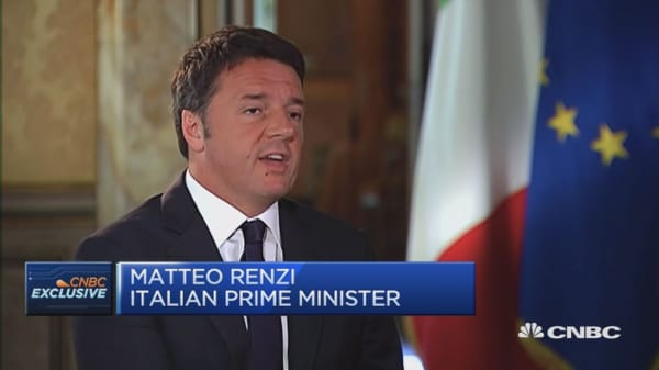 We can win the referendum: Matteo Renzi