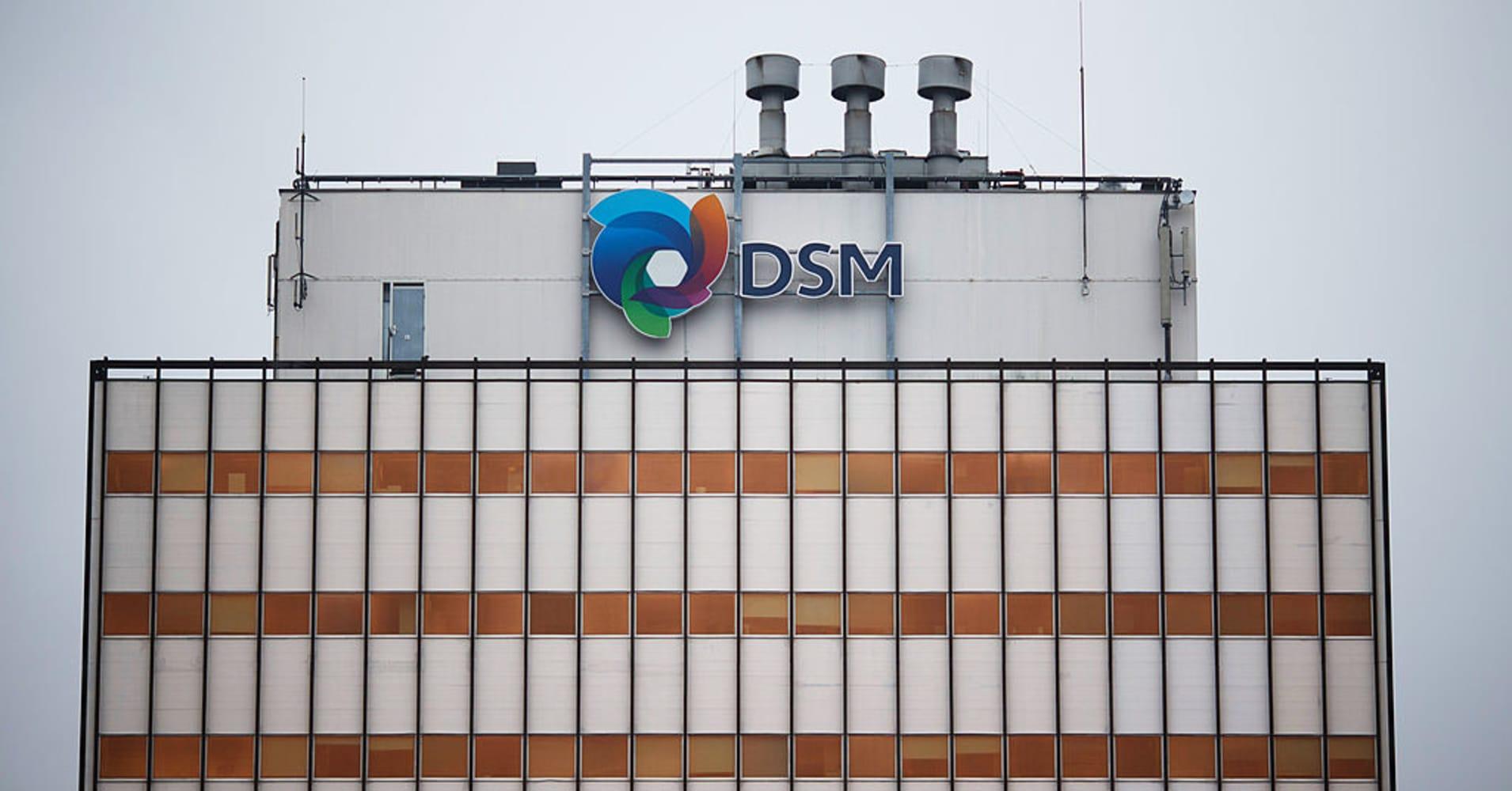 DSM fourth-quarter core profit rises 3 percent, narrowly beats estimates
