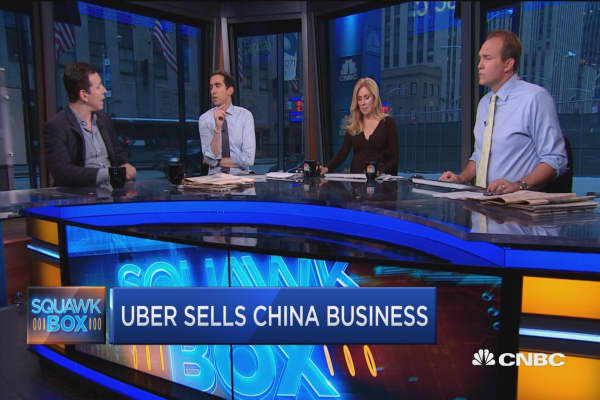 Uber-Didi China merger leading to monopoly?