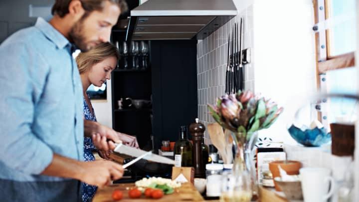 Millennials cooking