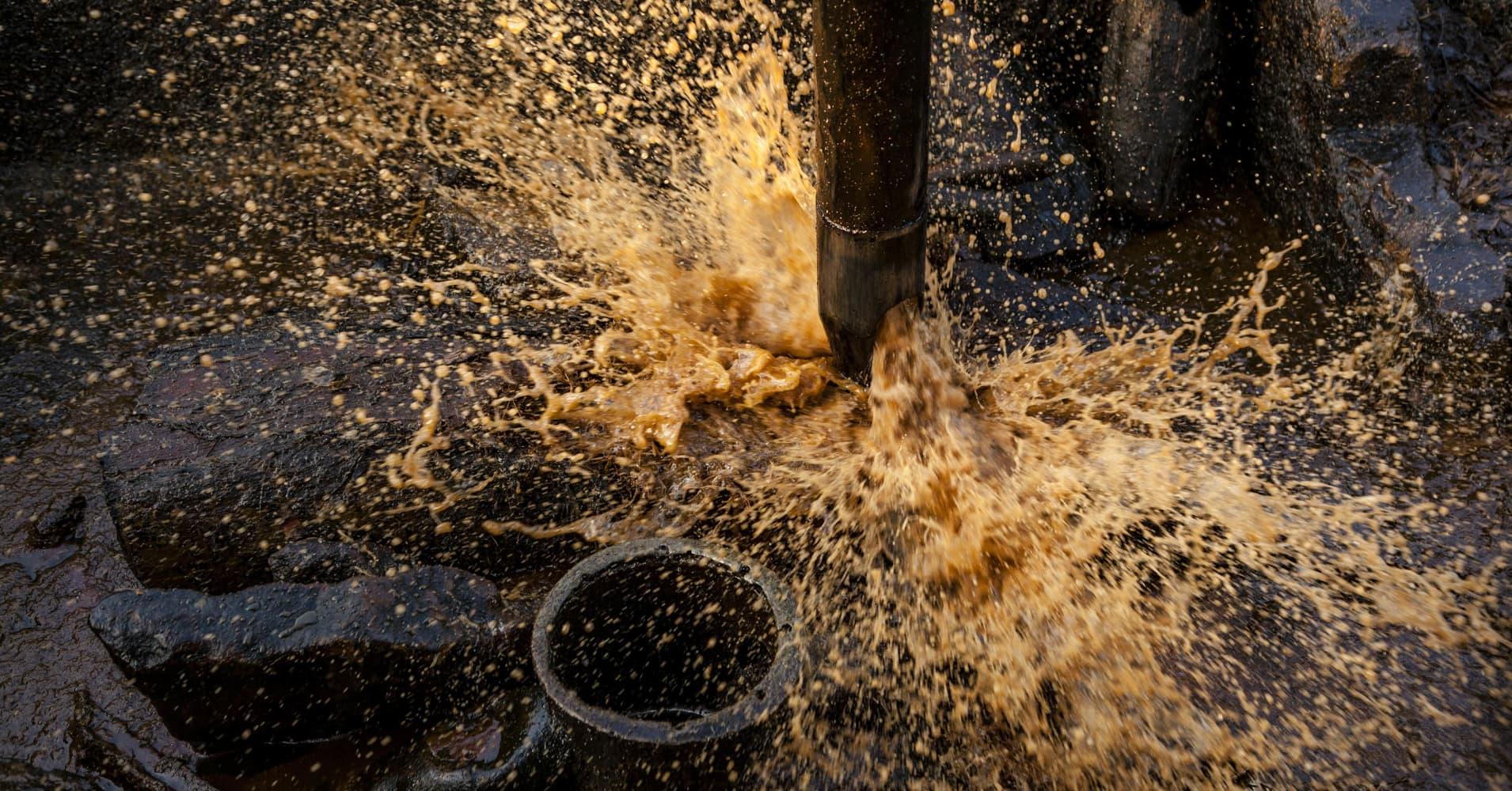 Live: Brent crude falls below $45 per barrel, hits 10-month low