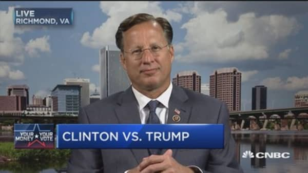 Rep. Brat: I trust Trump's guys on economic policies