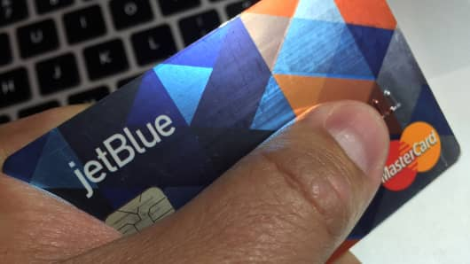 JetBlue travel rewards credit card