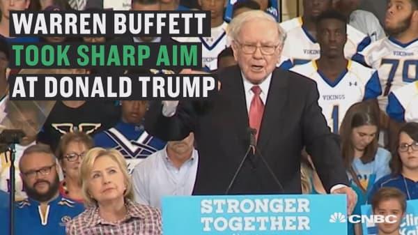 Warren Buffett hammers Donald Trump in scathing remarks