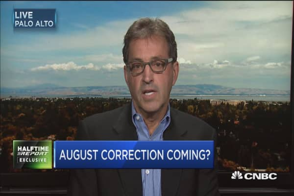 Is an August correction coming?