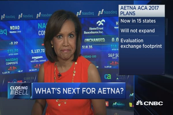 Aetna to rethink 2017 Obamacare extension plans