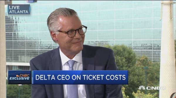 Delta CEO: We're confident in positive trajectory