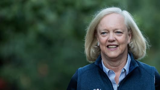 Meg Whitman steps down as HP board chairwoman