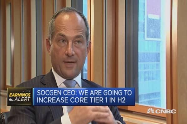 The environment is uncertain: Societe Generale CEO