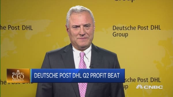 Profits at Deutsche Post rise in Q2