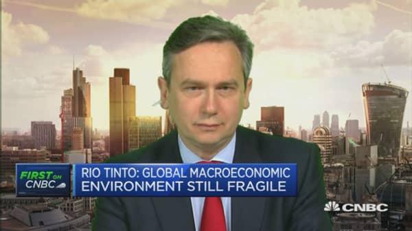 Rio Tinto profits drop