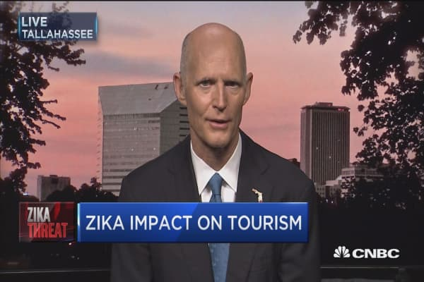 Gov. Scott: Confident we'll figure out how to control Zika