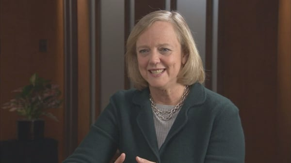 Meg Whitman sides with Hillary Clinton
