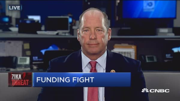 Zika funding fight