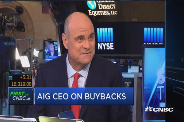 AIG CEO on activist investors
