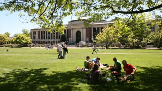 Oregon State University Beavers campus in Corvallis, Oregon