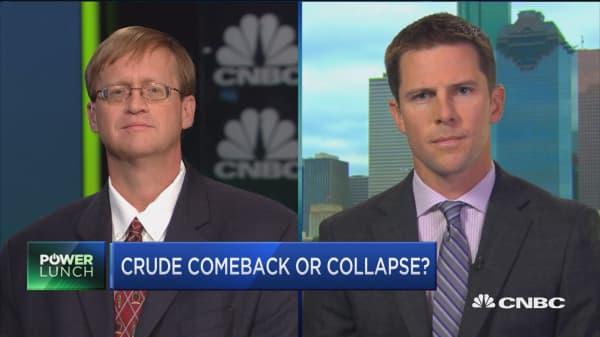 Crude comeback or collapse?