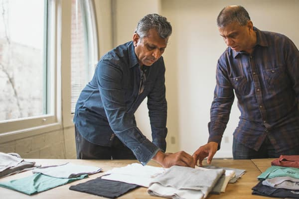Raj and Akhil Shah, co-founders of Ably, said they are in talks with some of fashion's biggest names.