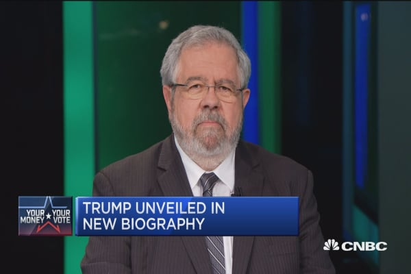Trump biographer: Trump didn't pay taxes for 2 reasons