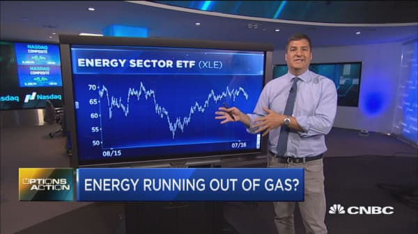 Energy running out of gas?
