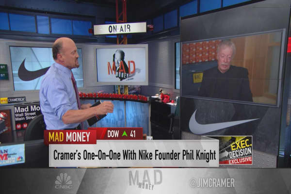 Nike co-founder Phil Knight: Finding the next Michael Jordan