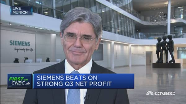 Biggest risk for 2016 is geopolitical risk: Siemens CEO
