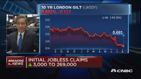 Initial jobless claims up to 269K